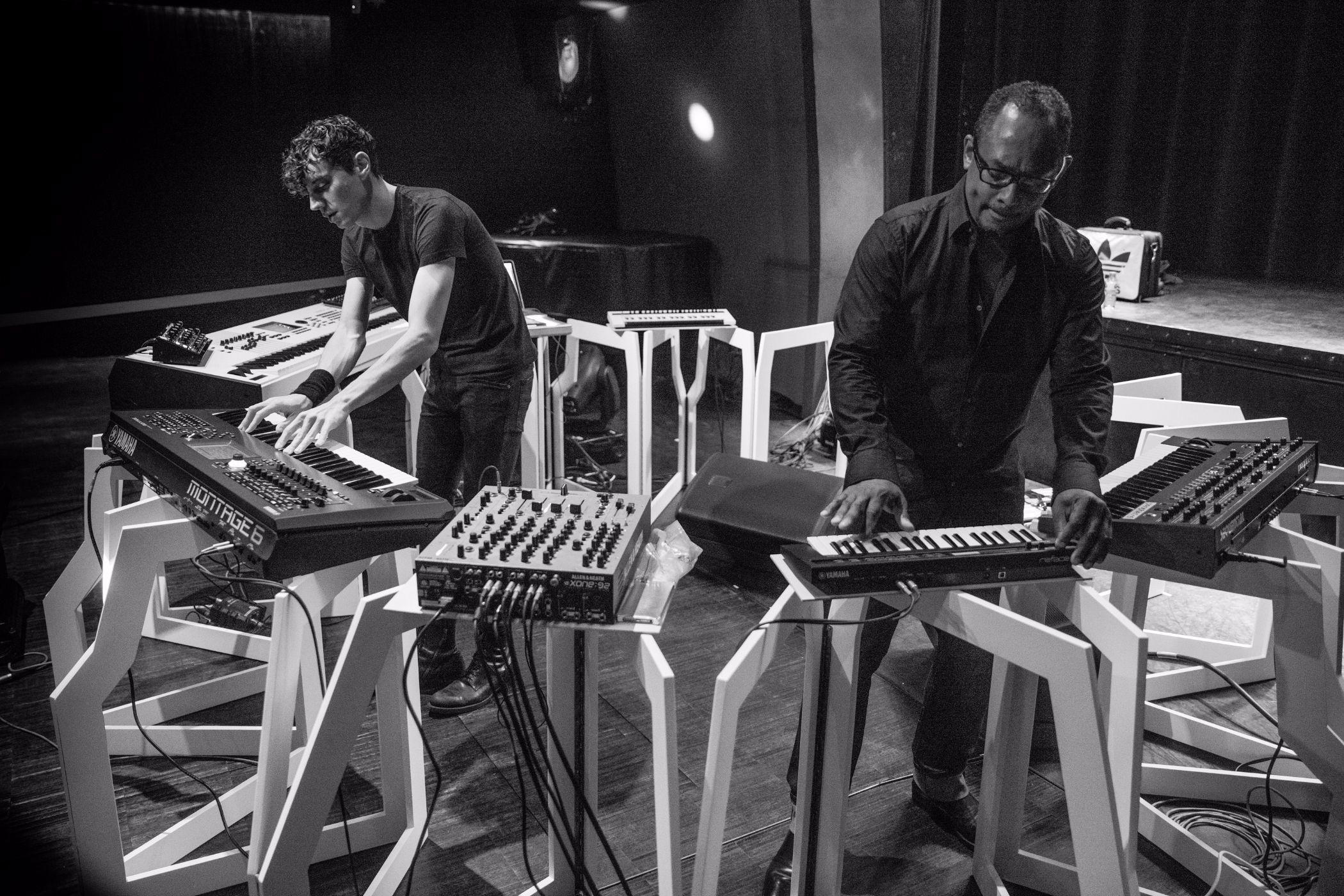 フランチェスコ・トリスターノ presents ピアノリグ feat. デリック・メイ