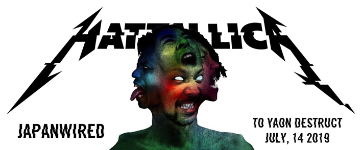 HATTALLICA as METALLICA