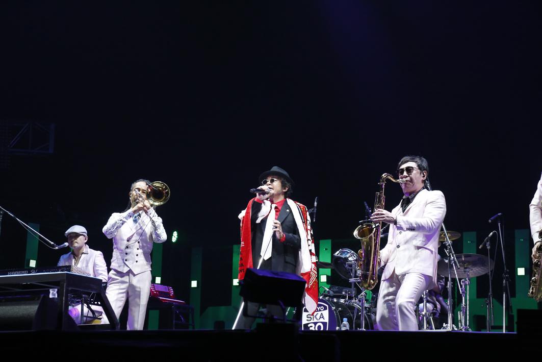 東京スカパラダイスオーケストラ、奥田民生 PHOTO:ほりたよしか