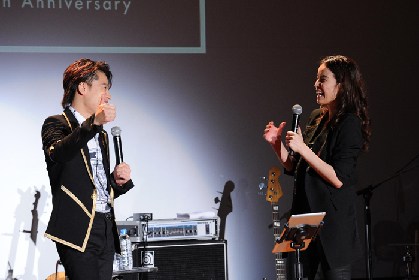 知念里奈デビュー20周年記念ライブに中川晃教、MAX、岡村隆史、サプライズに夫の井上芳雄登場