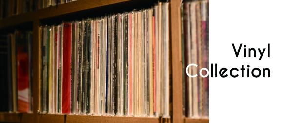 壁一面にぎっしりと納められたレコードの数々。60〜70年代のアメリカンロックを中心に、ジャズやソウルまで5,000枚以上が並ぶ。 なかには、ザ・バンドの『Music From Big Pink』(1968年)、ライ・クーダーの『Ry Cooder』(1970年)、ダン・ペンの『Nobody's Fool』(1973年)など、なかなか手に入らないレア盤も。