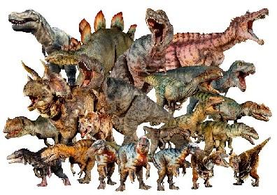 リアルな恐竜たち18頭が新宿に登場! 恐竜アート展『ディノアライブの恐竜たち展』が2020年冬に開催決定
