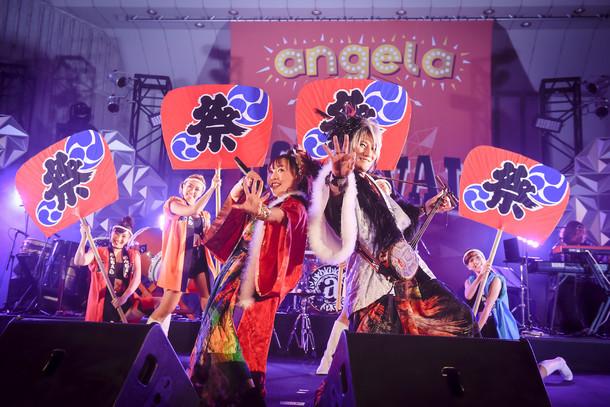 angela(撮影:釘野孝宏)