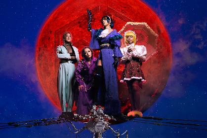 女王蜂、バンド初の日本武道館2days公演より初日『HYPER BLACK LOVE』の全曲ダイジェスト映像が公開