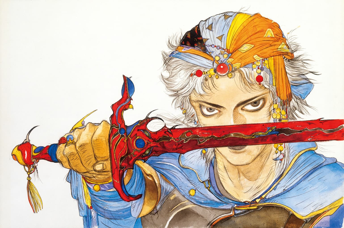 FINAL FANTASYパッケージイラスト (c)1988 SQUARE ENIX CO.,LTD.AllRights Reserved. IMAGE ILLUSTRATION:(c)1988 YOSHITAKA AMANO