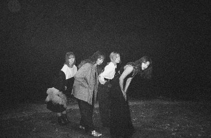 赤い公園 新体制初フルアルバム『THE PARK』発売&初のホール公演含むツアー開催を発表
