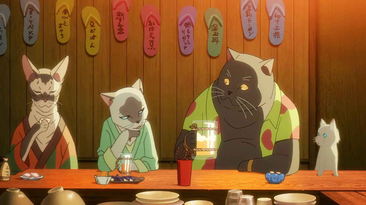 猫住人たち (c) 2020 「泣きたい私は猫をかぶる」製作委員会