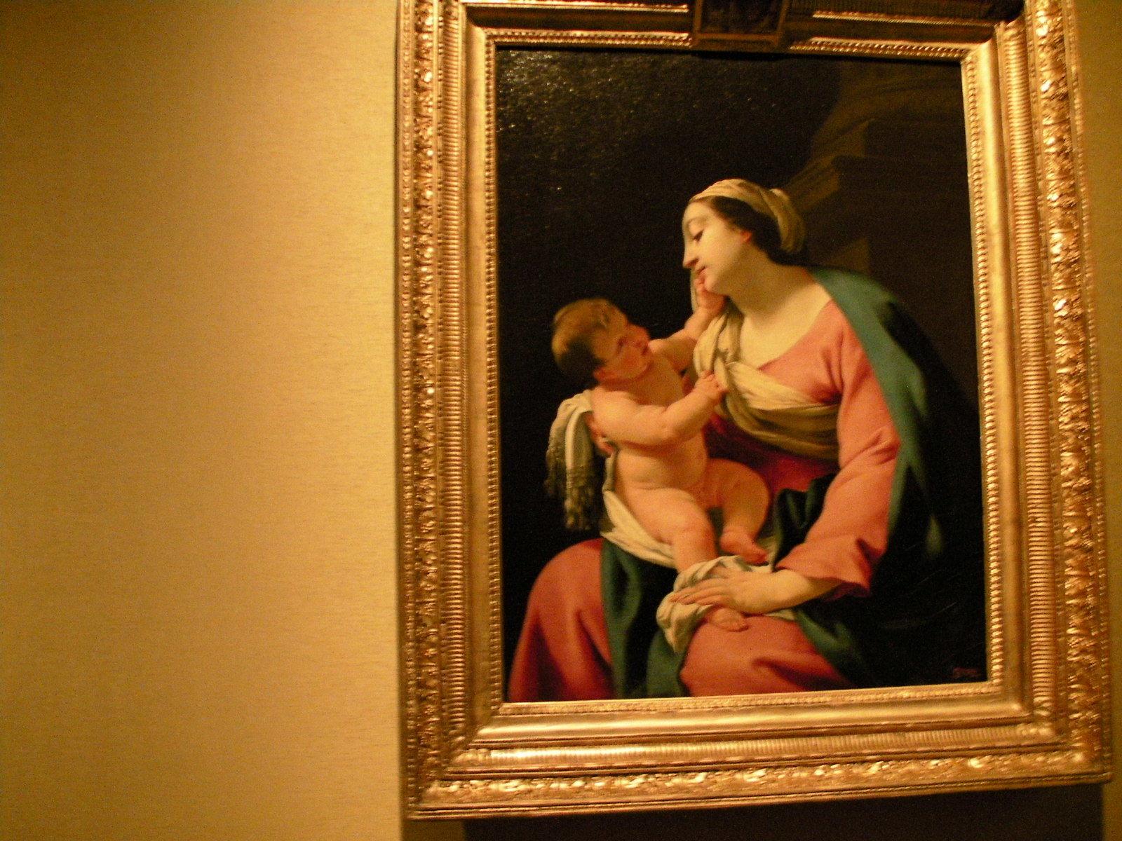 シモン・ヴーエ(?)《聖母子》(1639-1640年)