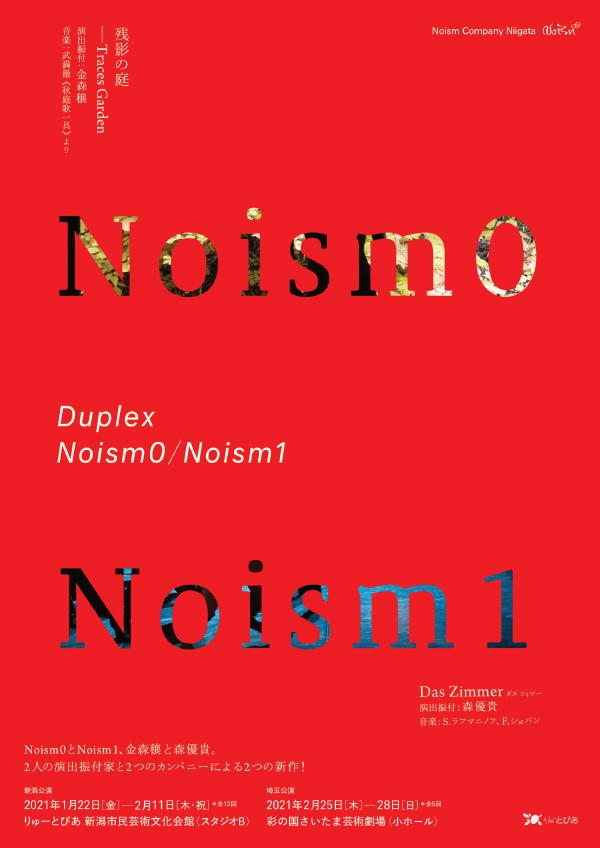 『Duplex』Noism0 / Noism1 フライヤー