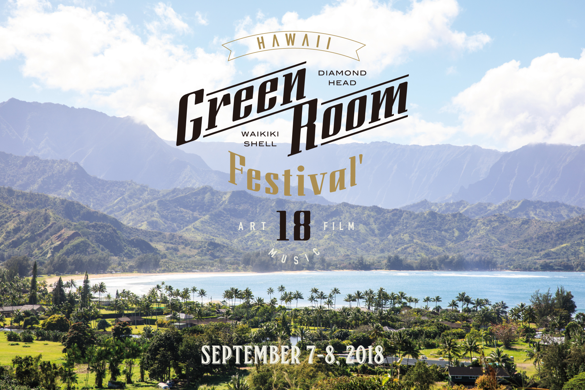 GREENROOM FESTIVAL Hawaii'18