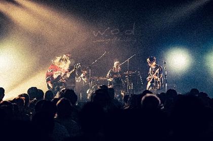 w.o.d. ソールドアウト続出!初の全国ワンマンツアー、東京公演を振り返る