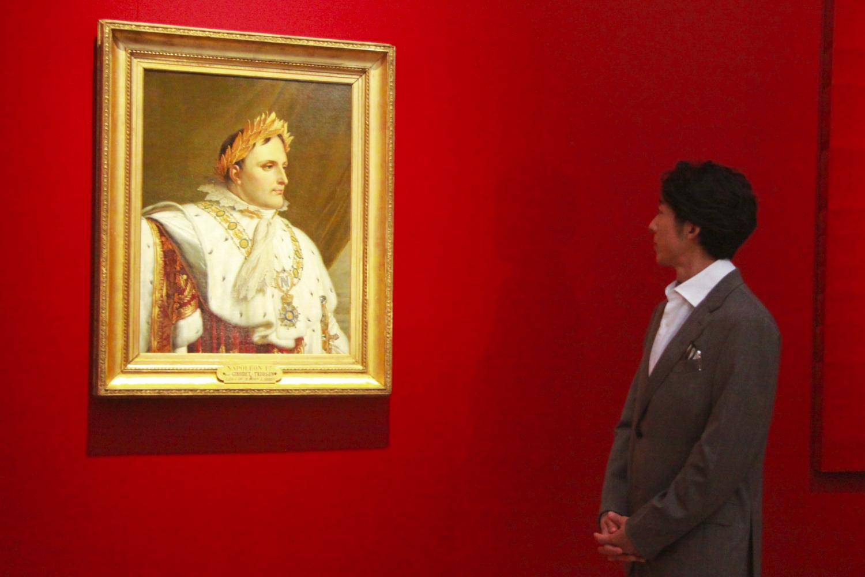 アンヌ=ルイ・ジロデ・ド・ルシー=トリオゾンの工房《戴冠式の正装のナポレオン1世の肖像》 1812年以降