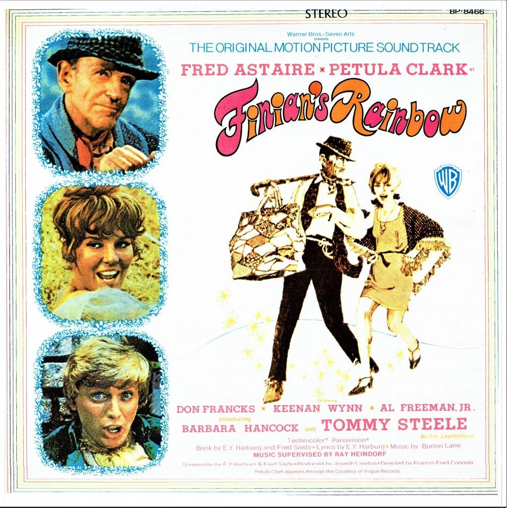 映画版『フィニアンの虹』(1968年)の公開時に発売されたサントラLP。現在はダウンロードで購入可だ。