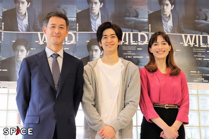 (左から)斉藤直樹、中島裕翔、太田緑ロランス