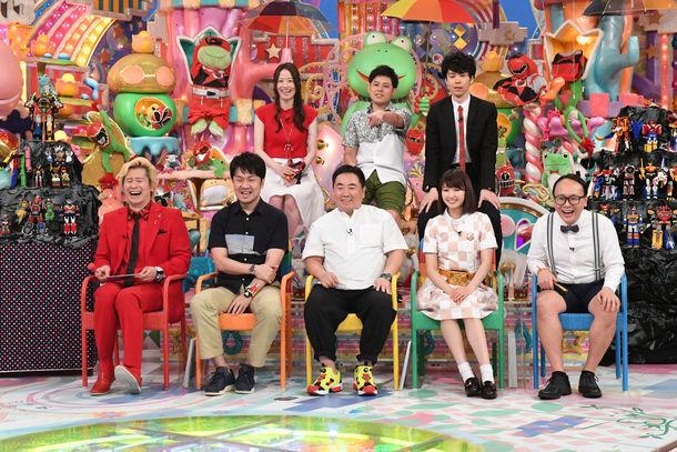 「スーパー戦隊大好き芸人」の出演者。(c)2017 テレビ朝日・東映AG・東映