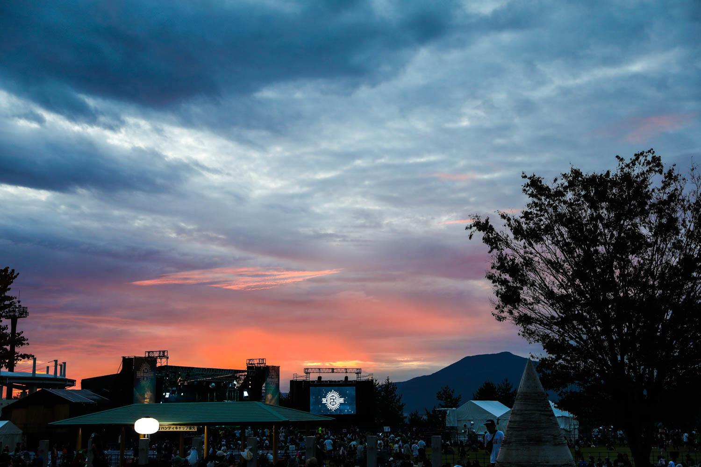 夕刻の美しさも『中津川ソーラー』の魅力です
