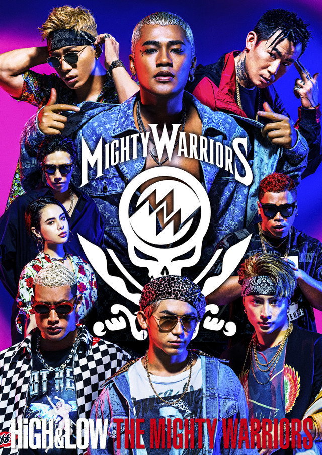Blu-ray / DVD『HiGH&LOW THE MIGHTY WARRIORS』ジャケット