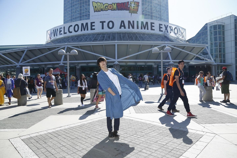 アメリカ・ロサンゼルスの『ANIME EXPO』に参戦した窪田正孝