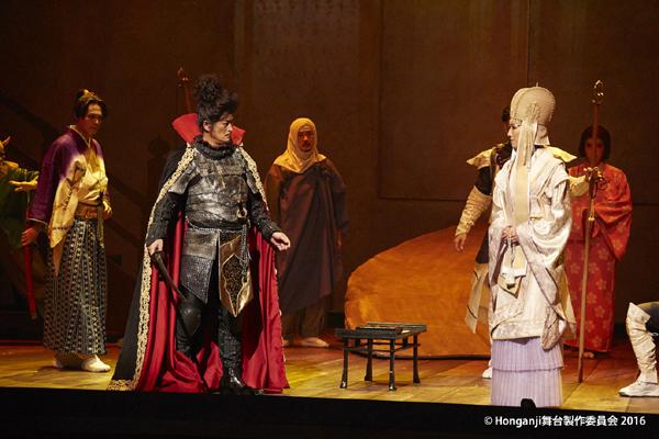 舞台「Honganji」舞台写真 (C)Honganji 舞台製作委員会 2016