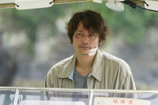 香取慎吾の狂気に満ちた表情を公開