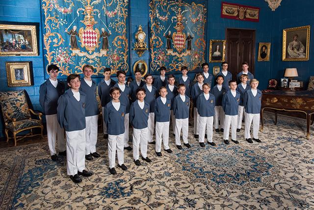 モナコ少年合唱団 ©Gaetan Luci – Palais Princier de Monaco