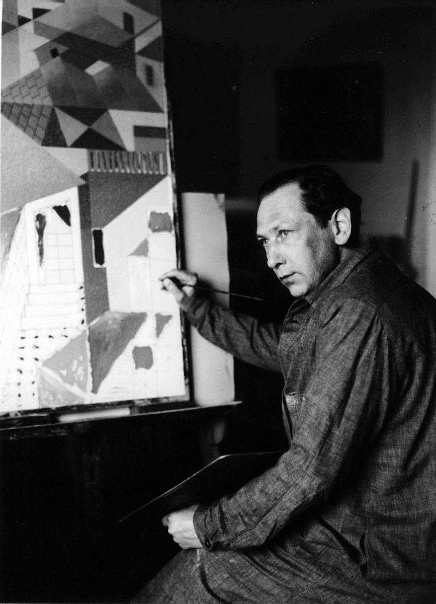ネーベルの肖像写真 1937年 (オットー・ネーベル財団提供)