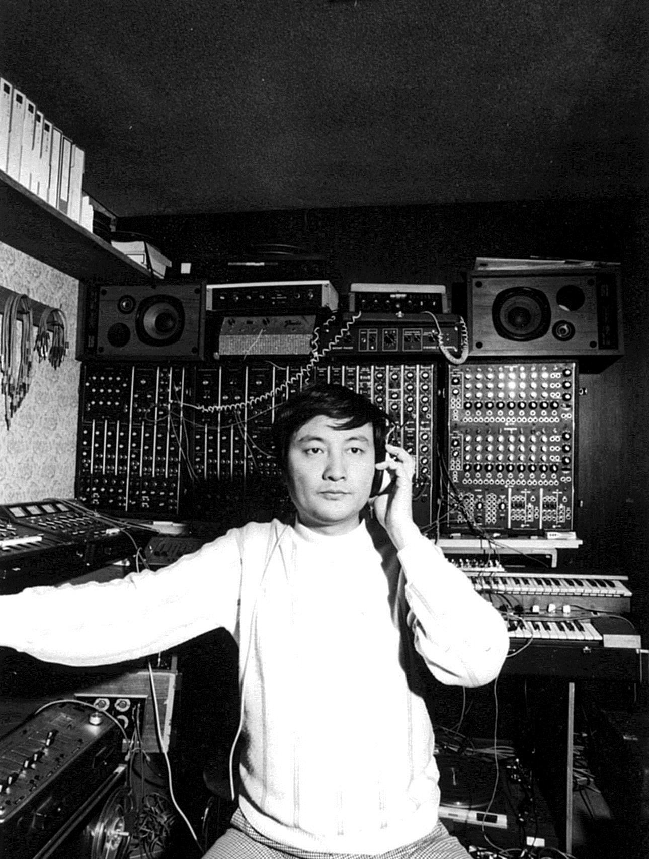1975年頃の冨田勲さん