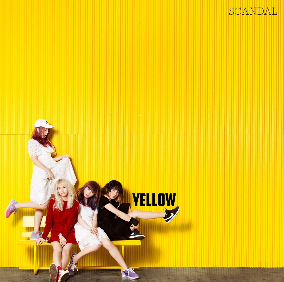 SCANDAL『YELLOW』通常盤