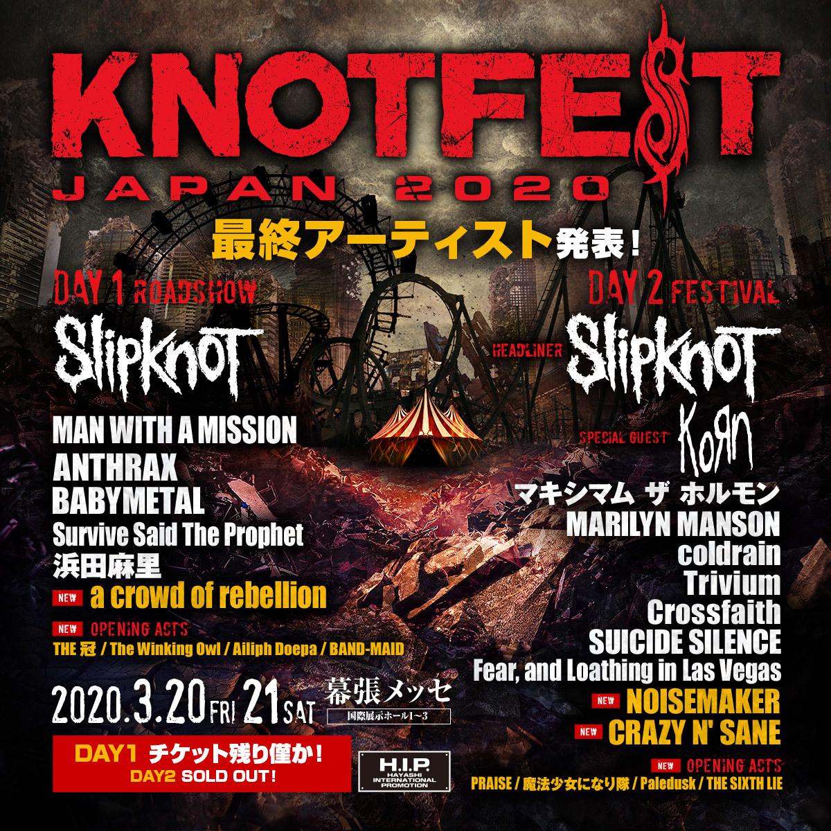 『KNOTFEST JAPAN 2020』