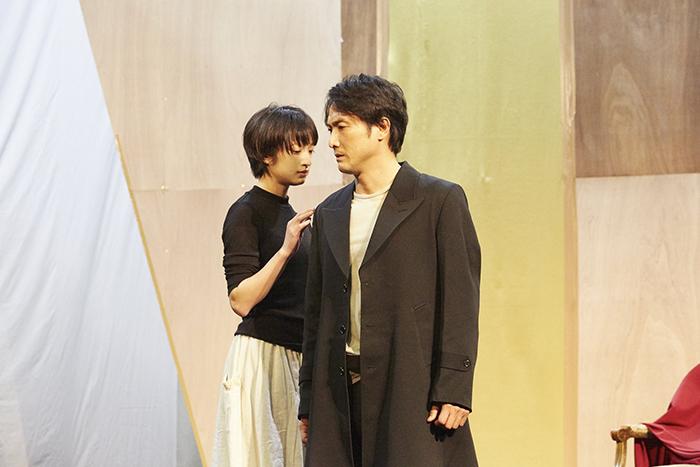 (左から)門脇麦、平岳大 (撮影:矢野智美)