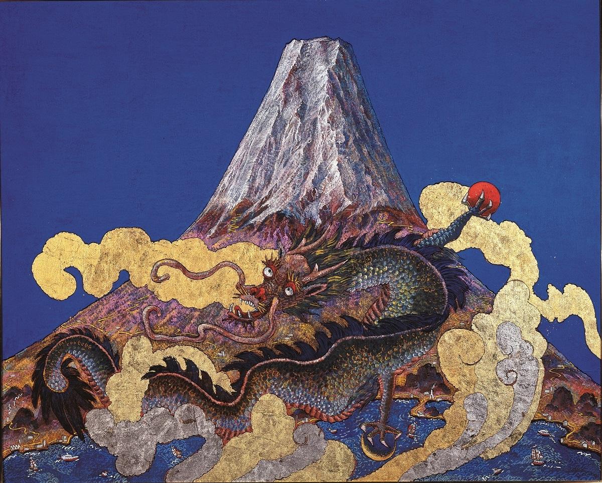 《蒼天富嶽龍宝図》 2008年