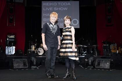 戸田恵子、還暦アニバーサリーライブ『Happy Birthday Sweet 60』を開催