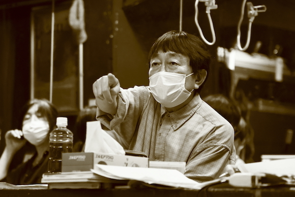 『ヒ me 呼』稽古場の様子 撮影:横田敦史