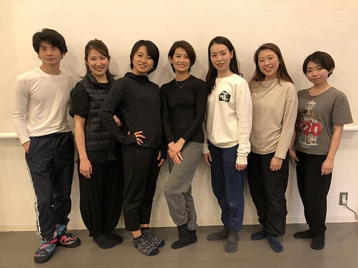 池上直子&ダンサー育成プロジェクト(2021年)メンバー