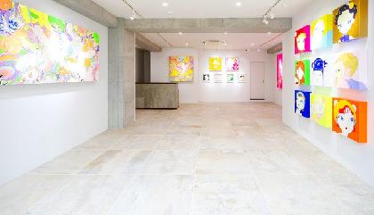 表参道に「KIKKA GALLERY」がオープン 天野喜孝のファインアート「CANDY GIRL」を展示・販売