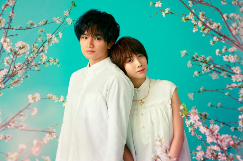 左から、中島健人(Sexy Zone)、松本穂香 Netflix映画『桜のような僕の恋人』2022年全世界同時配信予定