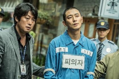 チュ・ジフンが連続殺人を告白する不敵な容疑者を怪演! キム・ユンソクと対決する映画『暗数殺人』予告編
