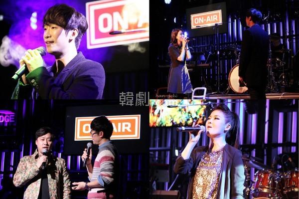 弘大のクラブで行われた「カムサハンダコンサート」の様子 ©HAN ENTERTAINMENT