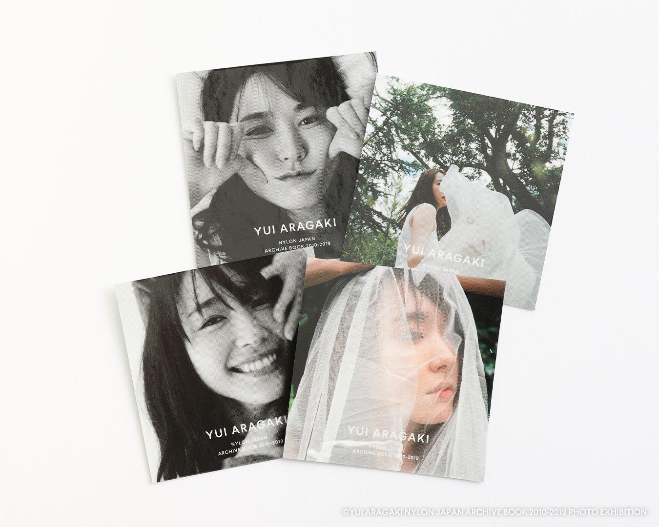 ノベルティ(抽選/入場者特典) (C)YUI ARAGAKI NYLON JAPAN ARCHIVE BOOK 2010-2019 PHOTO EXHIBITION