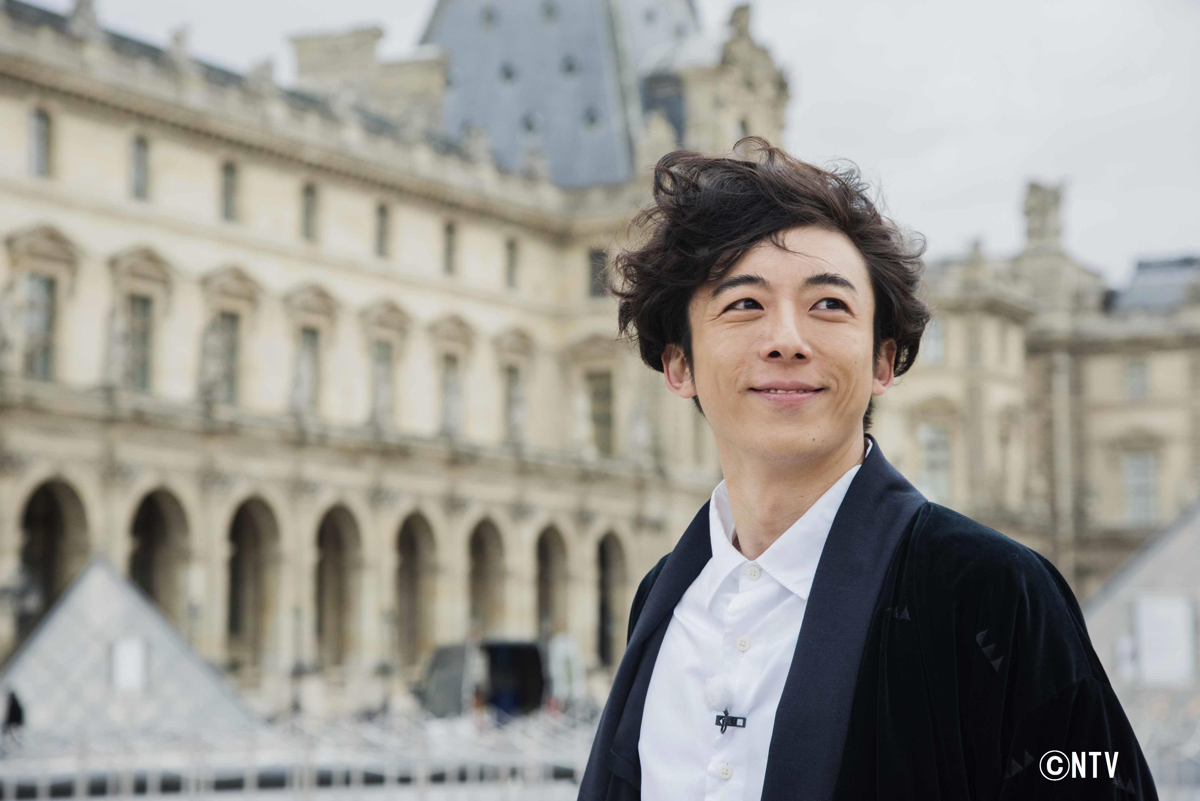 高橋一生、パリの様子