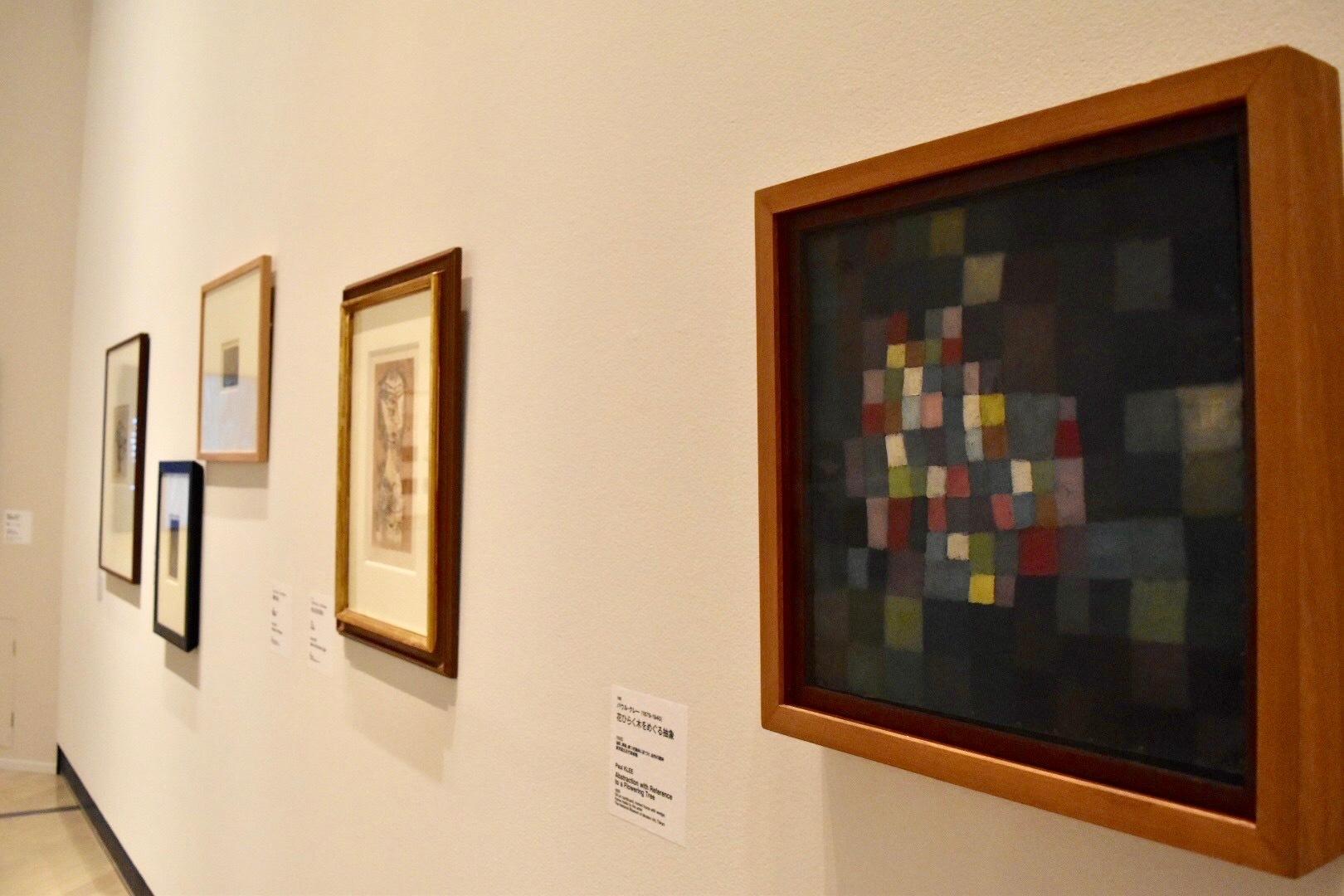 《花ひらく木をめぐる抽象》 パウル・クレー 1925年 東京国立近代美術館
