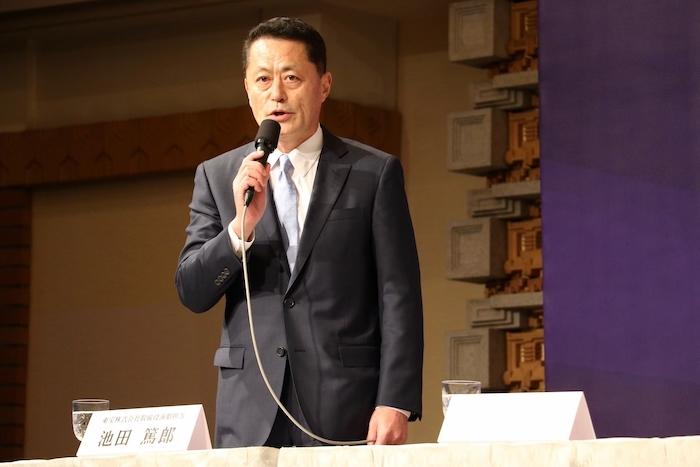 池田篤郎(東宝取締役演劇担当)