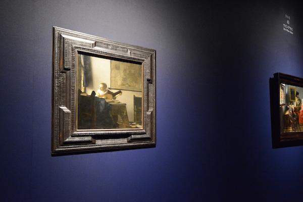 ヨハネス・フェルメール《リュートを調弦する女》1662-1663年頃  メトロポリタン美術館