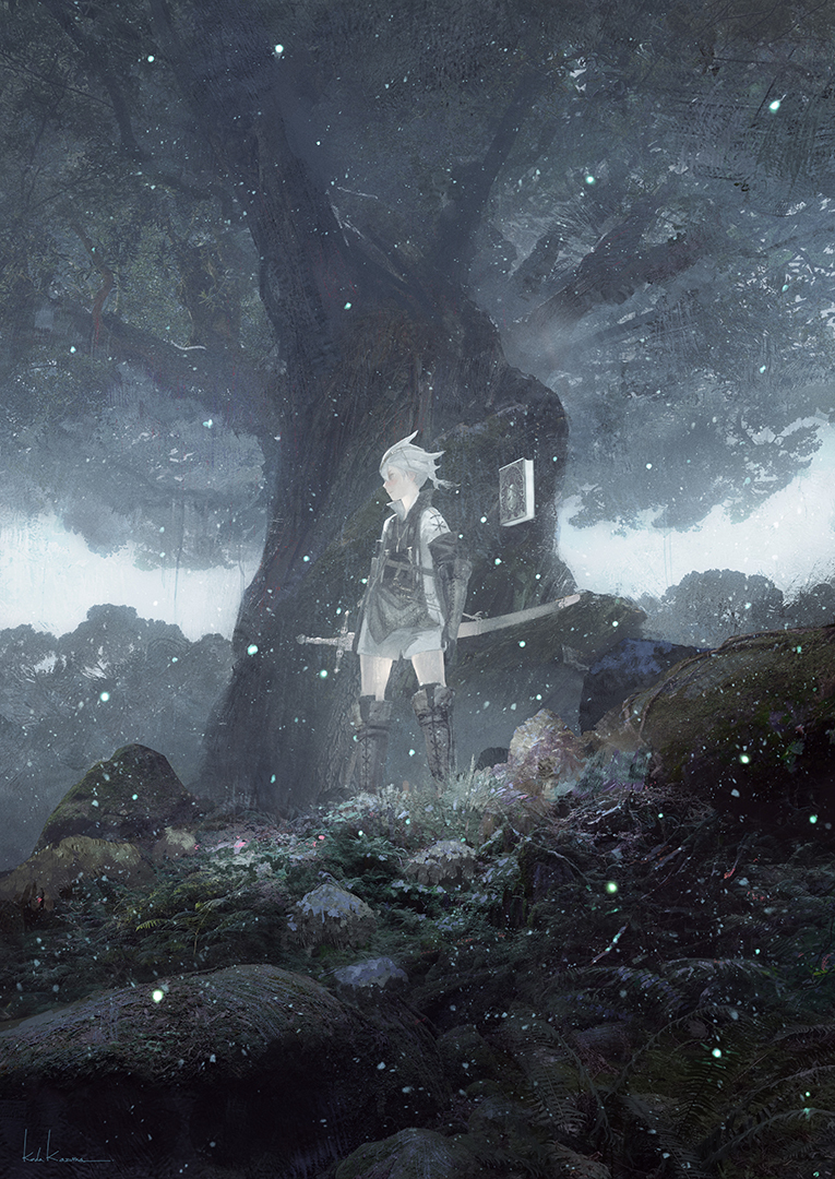 『NieR Replicant ver.1.22474487139...』ビジュアル (C)SQUARE ENIX CO., LTD. All Rights Reserved. Developed by Toylogic Inc.