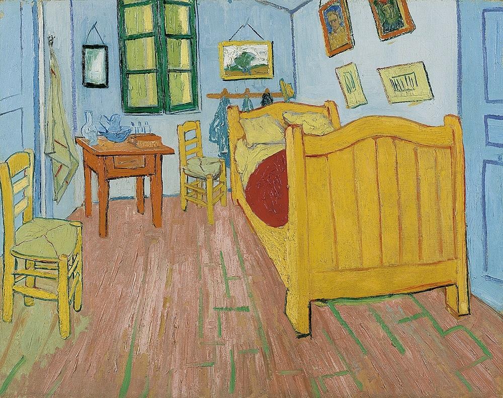 フィンセント・ファン・ゴッホ《寝室》1888年 油彩・カンヴァス  ファン・ゴッホ美術館  (フィンセント・ファン・ゴッホ財団)蔵 ©Van Gogh Museum, Amsterdam  (Vincent van Gogh Foundation)