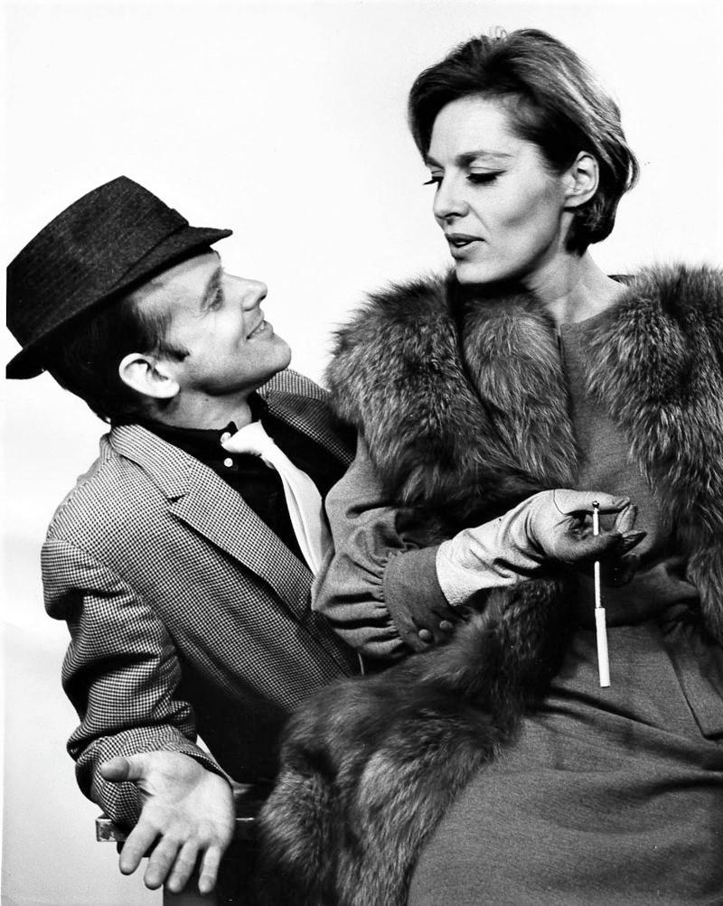 NYはシティ・センターでの再演版『パル・ジョーイ』(1963年)より。振付・演出家として、当時飛ぶ鳥を落とす勢いだった、ボブ・フォッシー(左)がジョーイを演じた。