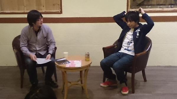右:櫻井智也(MCR) ⓒBITE公式Twitter