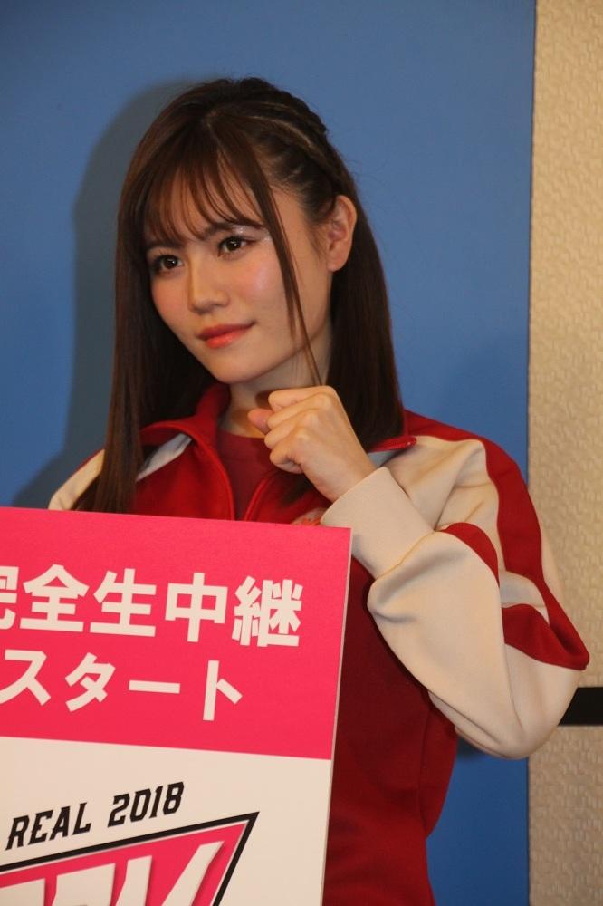 豆腐プロレス シャーク込山(AKB48 込山榛香)