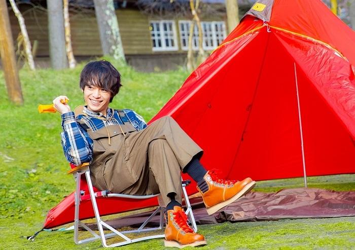 『溝口琢矢 2021年カレンダー みぞたび~群馬ひとりキャンプ編~』より