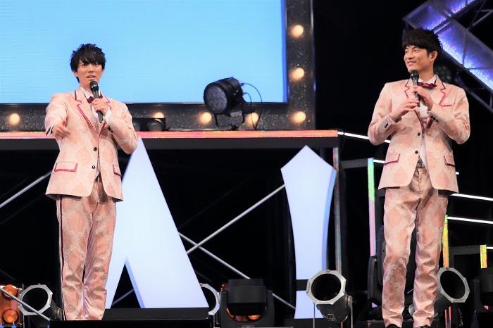 (左から)辰巳雄大、松崎祐介